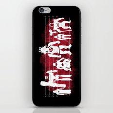 Plastic Villains  iPhone & iPod Skin