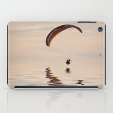 Powered paraglider iPad Case