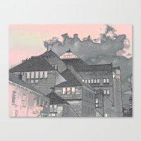 Modern in York Canvas Print