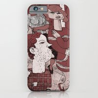 iPhone & iPod Case featuring Sitting Still by giorgio fratini