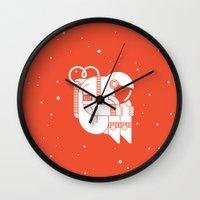 The Cosmonaut Wall Clock