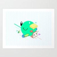 Tasty Visuals - Sandwich… Art Print