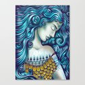 Calypso Sleeps Canvas Print