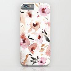 Wild Pansies iPhone 6 Slim Case