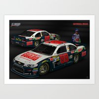 2013 Dale Earnhardt Jr. … Art Print