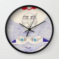 Deception  Wall Clock