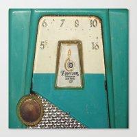 Vintage Transistor Radio… Canvas Print
