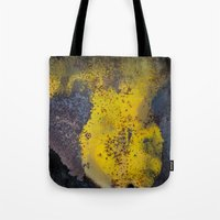 Abstract  metallic Tote Bag