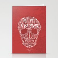 No One But Death (Shall Part Us) Stationery Cards