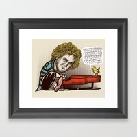 Play it by ear Framed Art Print