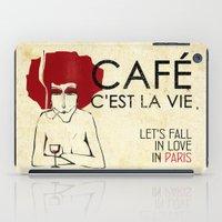 Café C'est La Vie - Par… iPad Case