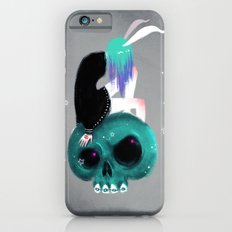 Girl and Skull Slim Case iPhone 6s