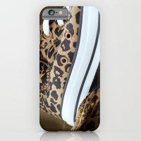 iPhone & iPod Case featuring Converse leopard All Stars by Marieken