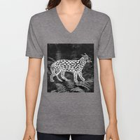 Forest Panther Unisex V-Neck