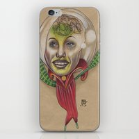 WE COME IN PEACE iPhone & iPod Skin