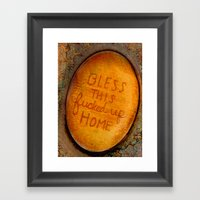 This Fucked Up Home Framed Art Print
