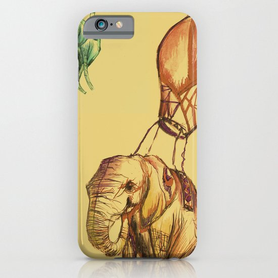 Elephants iPhone & iPod Case