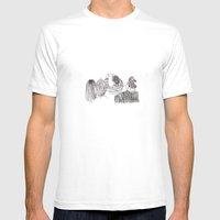 Paparazzi Mens Fitted Tee White SMALL