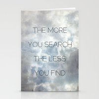 Search & Find Stationery Cards