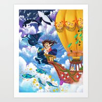 The Sea Wanderer Art Print