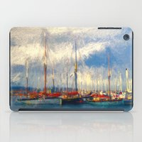 Waiting to sail iPad Case