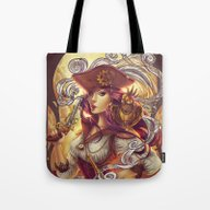 Pirate Gears Tote Bag