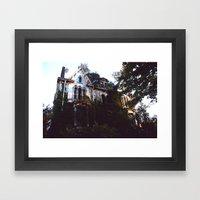 DERELICTION Framed Art Print