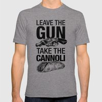 Leave The Gun Take The C… Mens Fitted Tee Tri-Grey SMALL