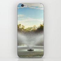 Fountain in New Orleans iPhone & iPod Skin