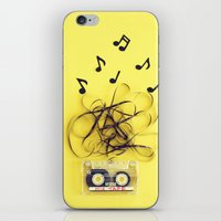 Mix Tape (ANALOG ZINE) iPhone & iPod Skin
