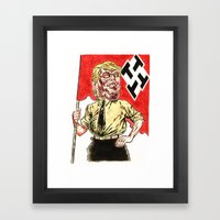 Make America Hate Again Framed Art Print