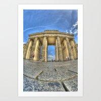 Brandenburg Tor Art Print