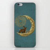 Moon Travel iPhone & iPod Skin