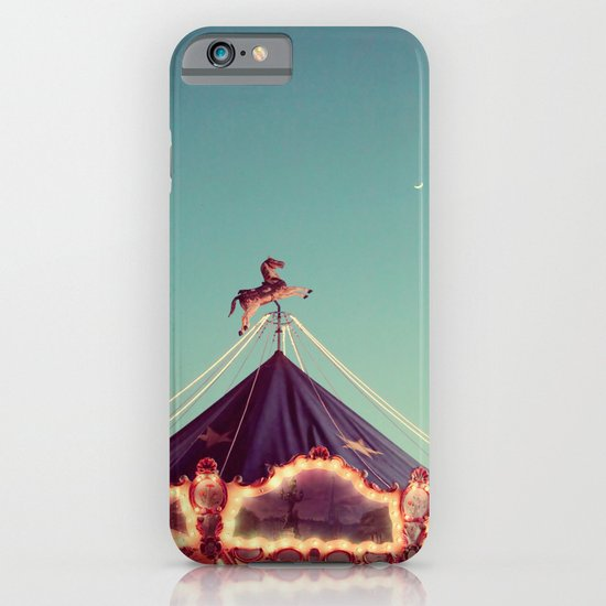 Crescent Moon Over Paris #2 iPhone & iPod Case