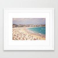Bondi Beach  Framed Art Print