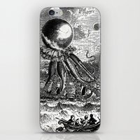 They're Here iPhone & iPod Skin