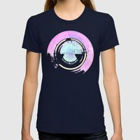 Hypernova Womens Fitted Tee Navy SMALL