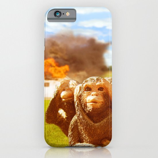 Monkeys Make Bad Pets. iPhone & iPod Case