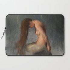 Pensive Mermaid Laptop Sleeve