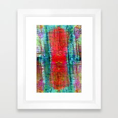 Kindly enough the tissue was composed of melodies. Framed Art Print