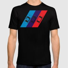 ///M Mens Fitted Tee SMALL Black