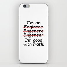 I'm An Engineer I'm Good… iPhone & iPod Skin