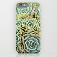 iPhone & iPod Case featuring Succulentville by RichCaspian