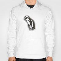 Charcoal Penguin Hoody