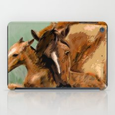 Horses - Mare and Foal iPad Case