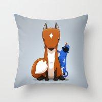 Hungry & Foolish Throw Pillow