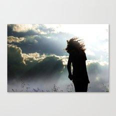 Through Spirit Canvas Print