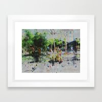A balance between we and they but the as yet I, 04 Framed Art Print