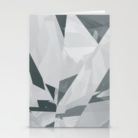 Ice cracks #1 Stationery Cards