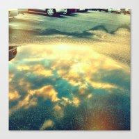 reflect 2 Canvas Print